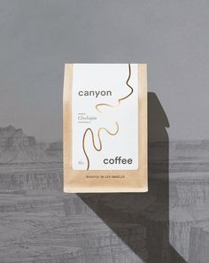 Canyon Coffee Packaging