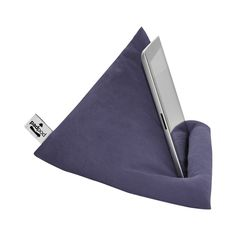 Steel Blue iPad, Tablet & Book Cushion