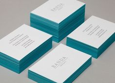 business card #business #banda #card #turquoise #layout #typography