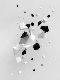 All sizes | Sketch | Flickr - Photo Sharing! #playful #white #stones #black #illustration #crystals #pablo #alfieri