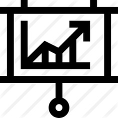 See more icon inspiration related to business and finance, bar chart, whiteboard, line graph, growth, comparative, stats, benefits, report, presentation, board, statistics, diagram, graphic and arrow on Flaticon.