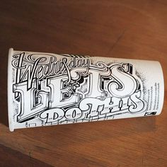 Amazing lettering by Rob Draper #illustration #lettering