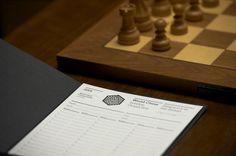 Pentagram #chess #white #branding #world #black #and