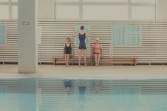 In Swimming Pool by Maria Svarbova - JOQUZ