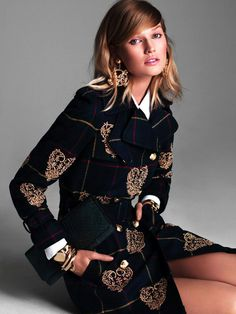 Toni Garrn by Victor Demarchelier for Vogue Japan
