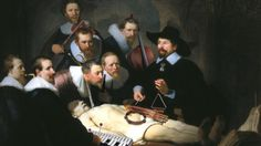 'The Music Lesson' #Rembrant #The Anatomy Lesson #music #photoshop #The Music Lesson