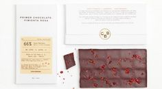 Casa Bosques Chocolates Minimalissimo #packaging #food #chocolate