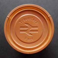 British Rail disposable cup #graphic design #british rail