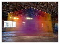 Gabriel Dawe – Plexus Installations / Aqua-Velvet #art #installation #color #visual #gabriel dawe