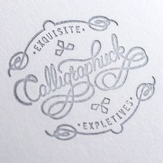 Great typographic designs | From up North #calligraphy #logo #branding #typography