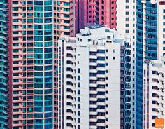 Hong Kong facades by Miemo Penttinen #photography #art