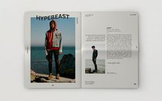 Hypebeast magazine on Behance