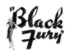 Movie Title Stills Collection #movie #title #fury #black #logo #typography