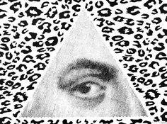 I've Got My Eye On You Kid, by Dan Bina #ink #ny #bina #drawing #dan #art #york #paper #brooklyn #new