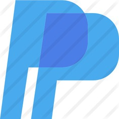 See more icon inspiration related to commerce and shopping, brands and logotypes, brand, paypal, logotype, logo, social network and social media on Flaticon.