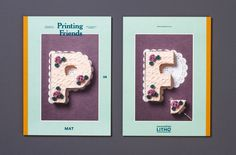 Printing Friends, the inspiring magazine for creatives, took a culinary trip around the world and ate mash potato typography, a coconut flav