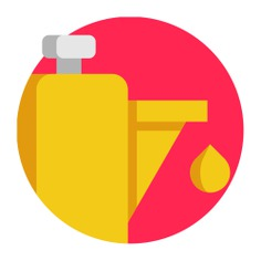 See more icon inspiration related to petroleum, sports and competition, lubricant, oiler, industry, petrol and bottle on Flaticon.