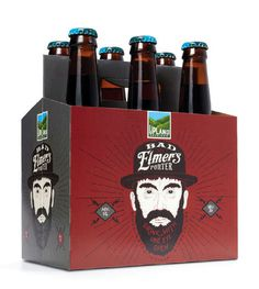 Upland Brewing Six Pack #packaging #beer