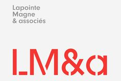LM&a by Charley Massiera #logo #logotype #typography