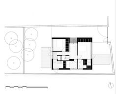 Alma Lane House / Boyd Cody Architects #drawings #plans #void #solid #houses