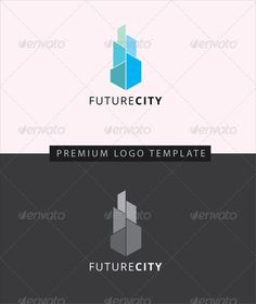 Future City- Buildings Logo Templates #tower