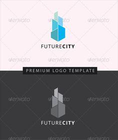 Future City- Buildings Logo Templates #tower
