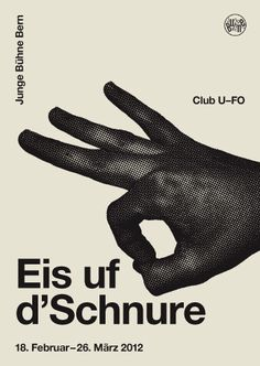 Young stage Bern: B & R Graphic Design #minimal #br