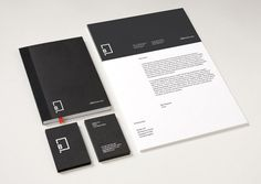 Little Black Book on Behance #business #stationary #card #print #letterhead