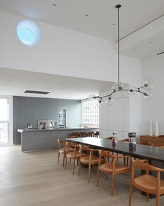 Park Avenue Penthouse and Rooftop in NYC, Soren Rose Studio 1