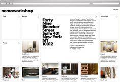 Marque – Recent Projects: Part 1   September Industry #website #type
