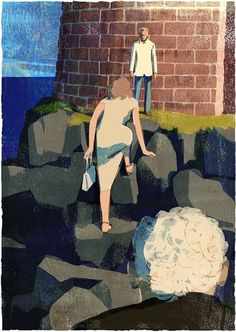 The Sea, The Sea : Tatsuro Kiuchi Illustration #illustration