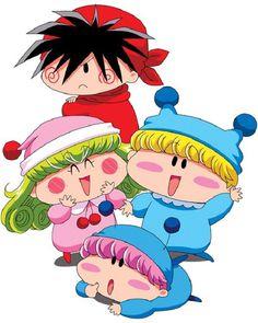 Mirmo, Rima, Yashichi and Marumo (Mirmo de Pon!)