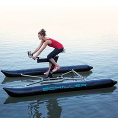 Schiller X1 Water Bike #tech #flow #gadget #gift #ideas #cool