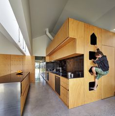 Weatherboard house #kitchendesign