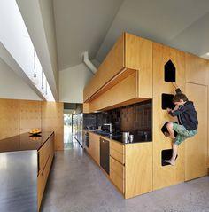 Weatherboard house #kitchendesign