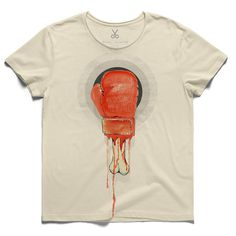 #dictatorship #beige #tee #tshirt #steinbeck #dictator #boxingglove #bone #blood #anarchy #watercolor