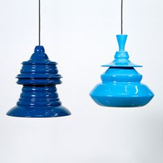 Spin Lamps from Madtastic #blue #lamps