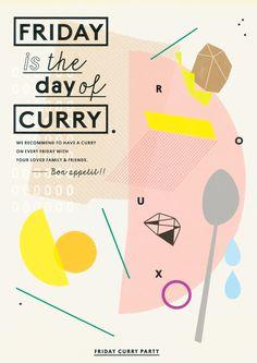Poster Design ©KAZUNORI GAMO @GRAPHITICA