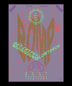 Flyers - Travis Stearns #modern #flyer #retro #poster #typography