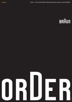 23 | 34 Posters Celebrate Braun Design In The 1960s | Co.Design | business + design #layout #braun #poster