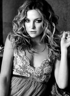 kate hudson. hot! #kate #hot #photography #bw