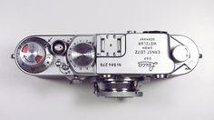 Leica III F #rangefinder #camera #dials #leica #buttons