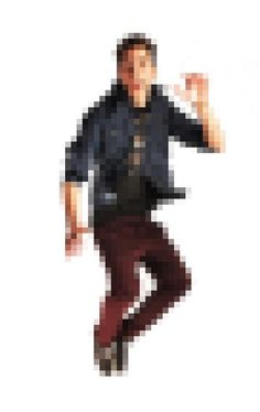 jump pixel #model #delgado #photo #jumping #design #pixel #illustration #photography #jump #poster #fashion #sergi #8bit