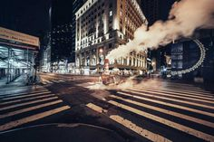 Desert in The City: Long Exposure Night Photography by Genaro Bardy