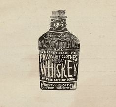 cxxvi10_1000.jpg (700×650) #whiskey #illustration #drawn #hand #typography