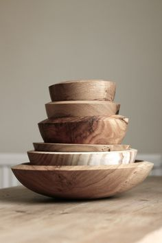 THE BROWN WORKSHOP #wood #vessels #bowls
