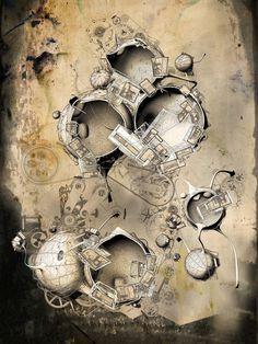 "CJWHO ™ (""QUARANTENA"" by Robert Scott Gilson (B.Arch...)"