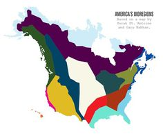 bioregional map #america #infographic #region #map
