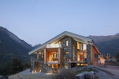 House in the mountains