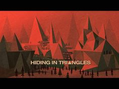 All sizes | Hiding in Triangles (1967) | Flickr - Photo Sharing! #illustration #retro #red #triangles